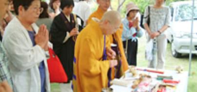 合同慰霊祭のイメージ
